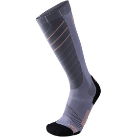 UYN Ski Superleggera Socks Women Silver/Coral
